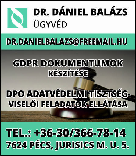 Dr. Dániel Balázs