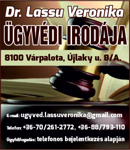 Dr. Lassu Veronika Ügyvédi Irodája
