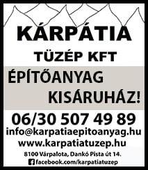Kárpátia  Tüzép  Kft. Építőanyag Kisáruház