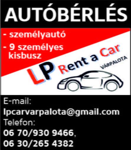 LP rent a car Várpalota