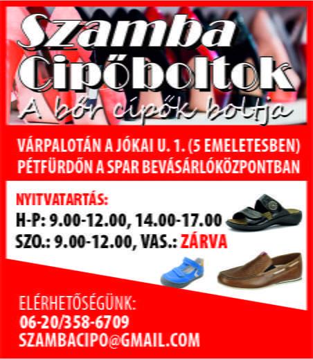 Szamba cipőboltok