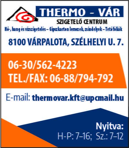 Thermo-Vár Szigetelő Centrum