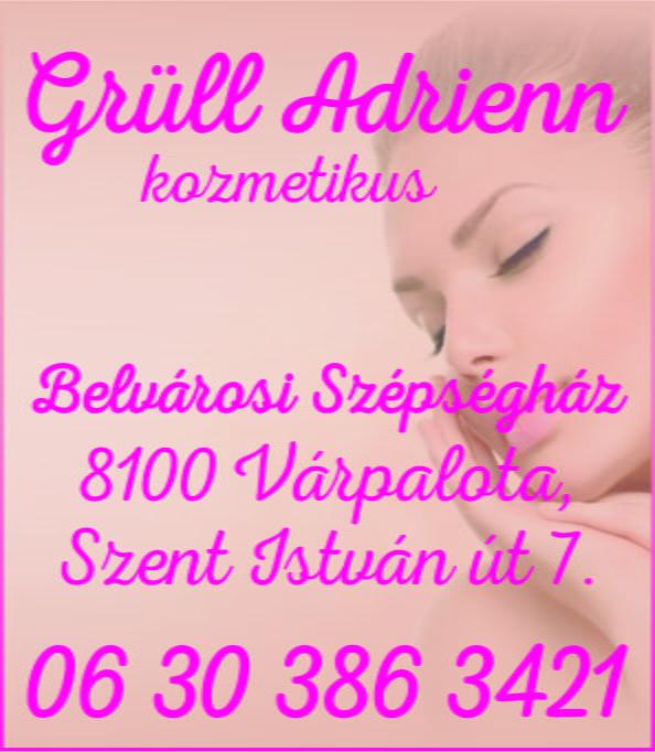 Grüll-Aigner Adrienn kozmetikus