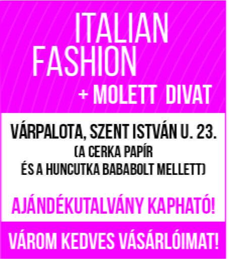 Italian Fashion + Molett Divat