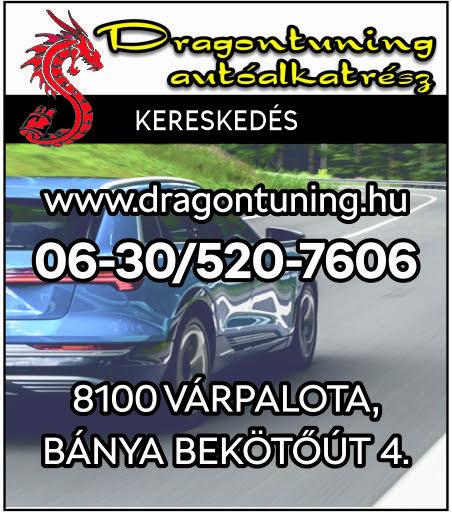 Dragontuning Autóalkatrész Kereskedés