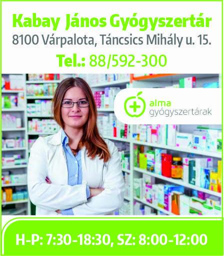 Kabay János Gyógyszertár