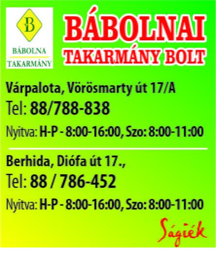 Bábolnai Takarmány bolt