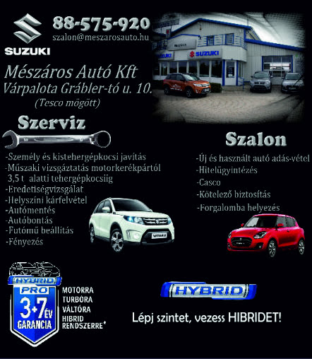 Suzuki Autó Kereskedés és Szervíz