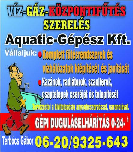 Aquatik-Gépész Kft.