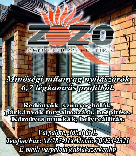 Zozo Árnyékolástechnika